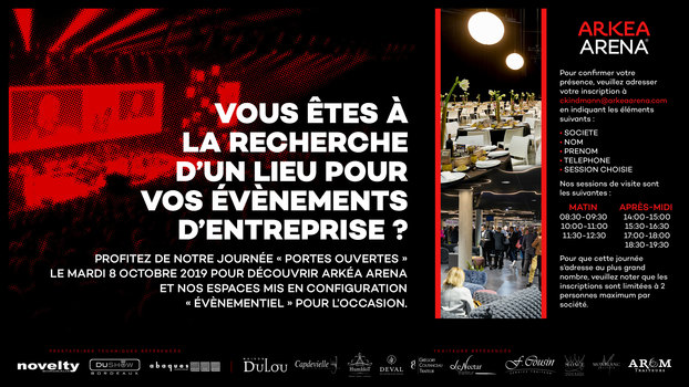 INVITATION PORTES OUVERTES Deval Traiteur à Bordeaux