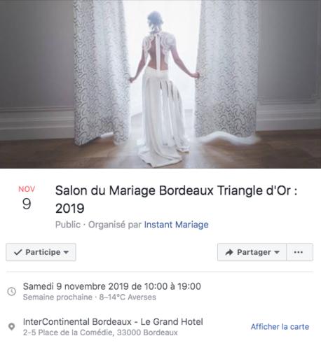 SALON DU MARIAGE Deval Traiteur à St-Emilion