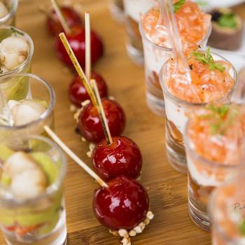 Ardoise pièces cocktail