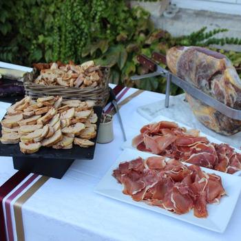 Stand de Foie Gras par Deval Traiteur Bordeaux